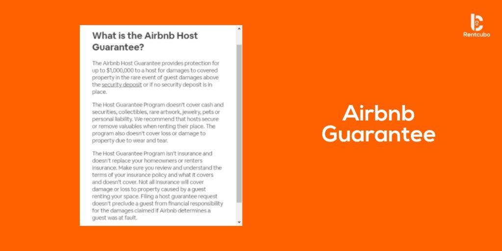 airbnb guarantee
